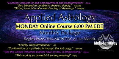 MONDAY GROUP Applied Astrology *JULY 2019