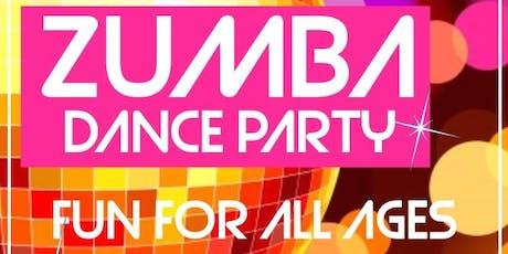 Free Community Zumba Class tickets