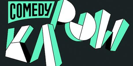 Comedy Kapow #262- Moe Ismail tickets