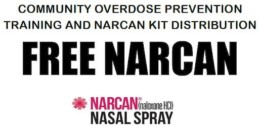 Community Overdose Prevention Training