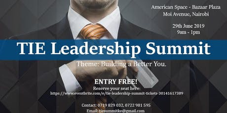 TIE Leadership Summit tickets