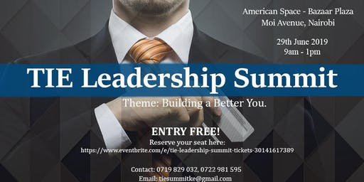 TIE Leadership Summit