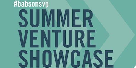 2019 Babson Summer Venture Showcase  tickets