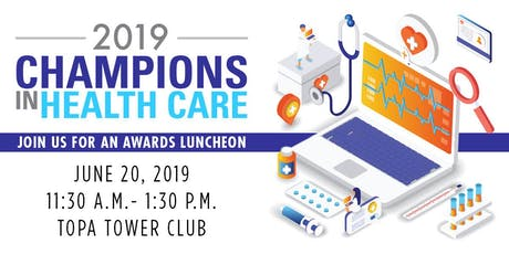 Champions in Health Care 2019 tickets
