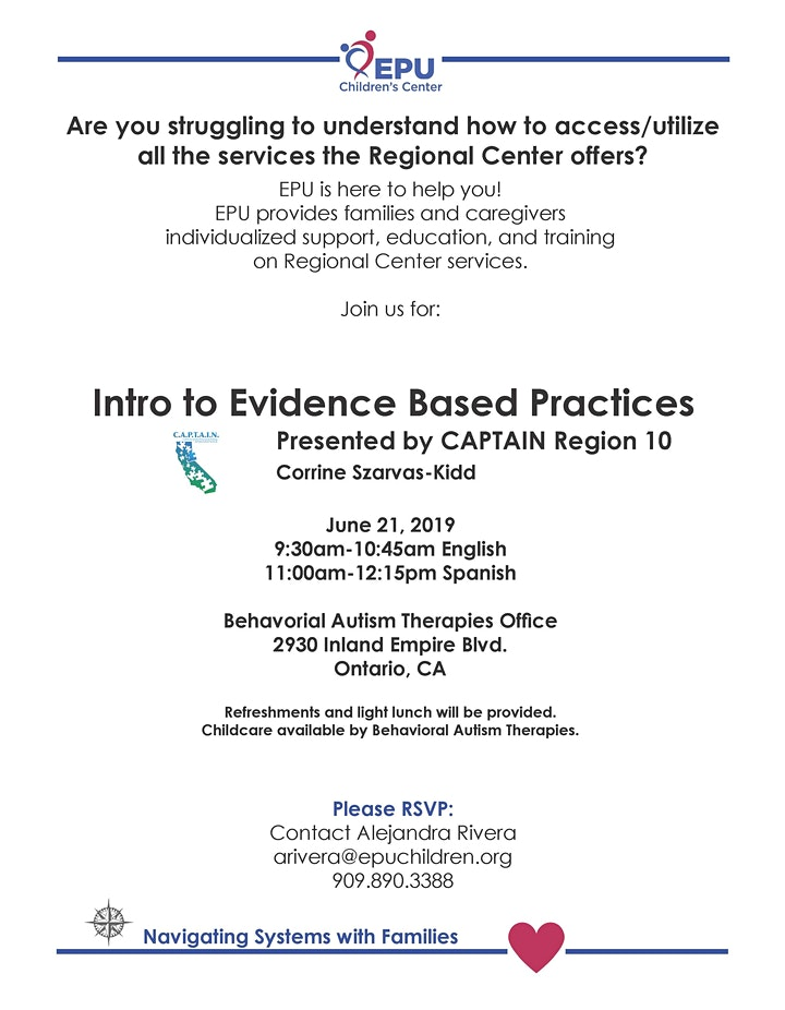 Introduction to Evidence Based Practices image