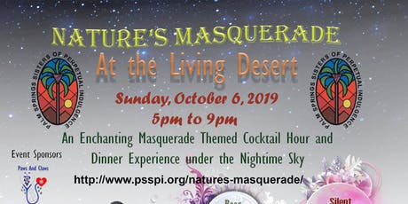 Nature's Masquerade at The Living Desert tickets