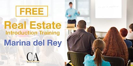 Free Real Estate Intro Session - Marina del Rey (Mon.) tickets