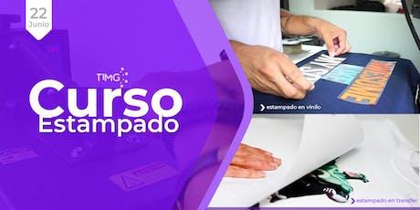 Curso de Estampado en Transfer inkjet y Vinilo Termoadhesivo I En Santiago  entradas