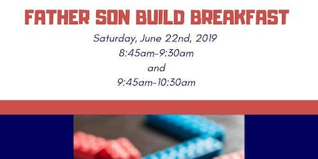 Father Son Build Breakfast  tickets
