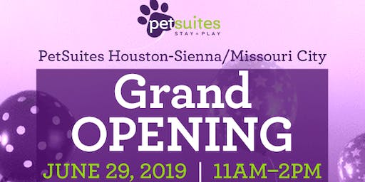 PetSuites Houston - Sienna/Missouri City Grand Opening