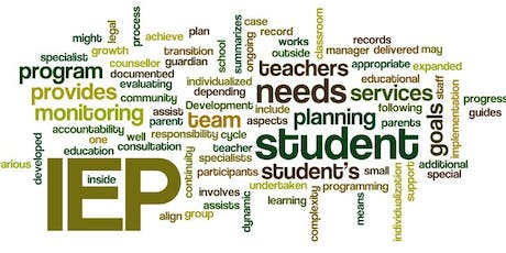 Individualized Education Plan (IEP) Workshop Series tickets