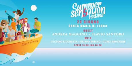 Summer Sensation Boat Party biglietti