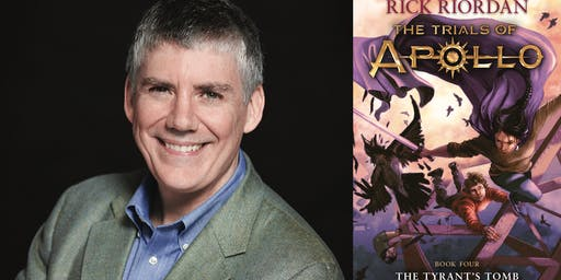 Rick Riordan at Glenn Memorial Church!
