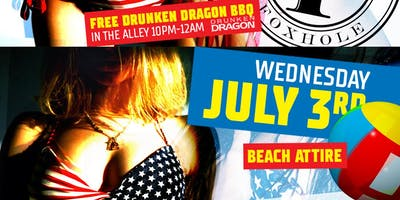 FOXHOLE BEACH PARTY - PRE FOURTH OF JULY CELEBRATION!