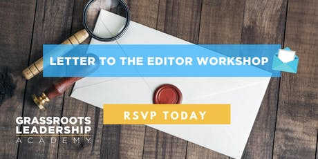 AFP Foundation IA, Letter to the Editor Workshop, Ames tickets