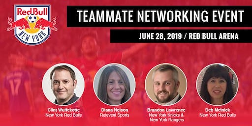 2019 New York Red Bulls Teammate Networking Event