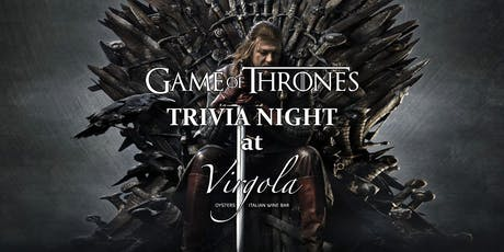 Trivia Night: Game of Thrones tickets
