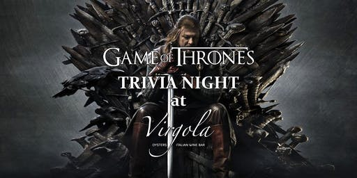 Trivia Night: Game of Thrones