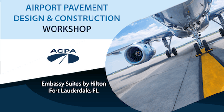 Airport Pavement Design & Construction Workshop tickets