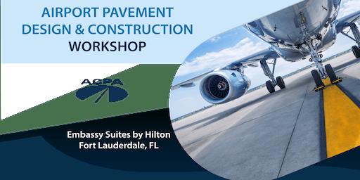 Airport Pavement Design & Construction Workshop