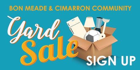 Bon Meade & Cimarron Community Yard Sale tickets