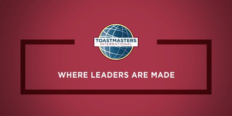 1st round of Toastmasters Club Officer Training. Thunder Bay tickets