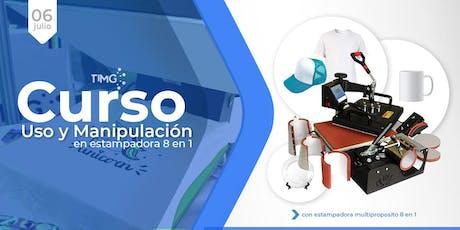 Curso Uso de Estampadora Multiproposito 8N1 I En Santiago  entradas