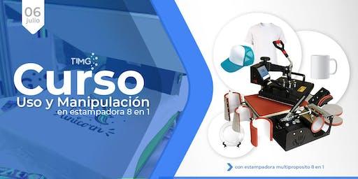 Curso Uso de Estampadora Multiproposito 8N1 I En Santiago
