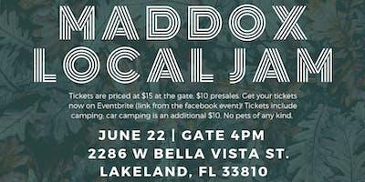 Maddox Local Jam June
