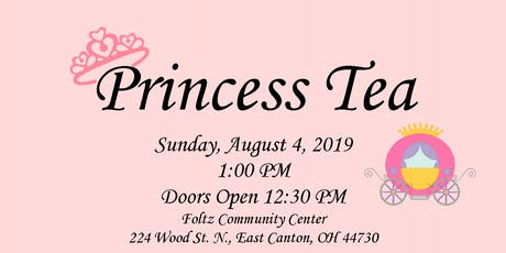 Princess Tea tickets