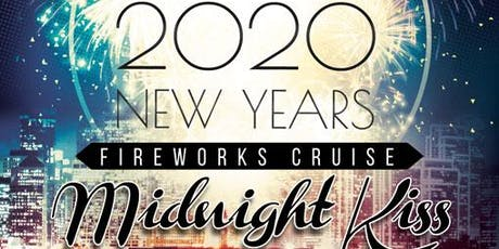 NYE Midnight Kiss Fireworks Cruise San Francisco Bay tickets