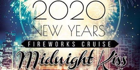 NYE Midnight Kiss Fireworks Cruise tickets