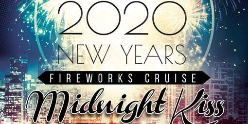 NYE Midnight Kiss Fireworks Cruise