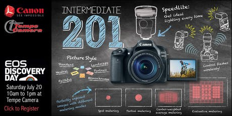 EOS Discovery Day - Intermediate 201: Creative Photography with your EOS Camera tickets