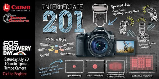 EOS Discovery Day - Intermediate 201: Creative Photography with your EOS Camera