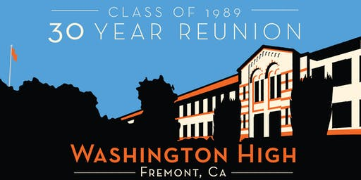Washington High School Class of '89 Thirty Year Reunion @ SAUCED LIVERMORE