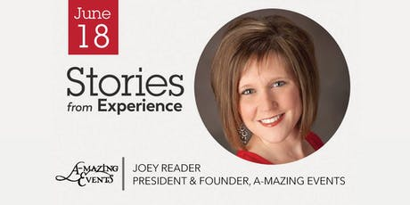 Stories from Experience with Joey Reader - Members & Visitors Welcome tickets