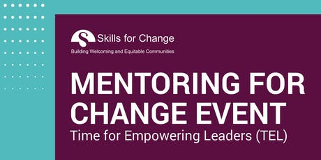 Mentoring for Change - Time for Empowering Leaders tickets