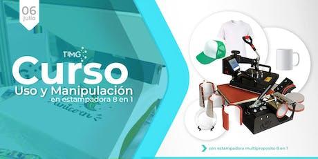 Curso Uso de Estampadora Multiproposito 8N1 I En Temuco  entradas