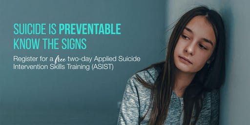 Applied Suicide Intervention Skills Training (ASIST) - Two-Days