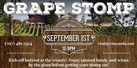 8th Annual Grape Stomp & Harvest Party tickets