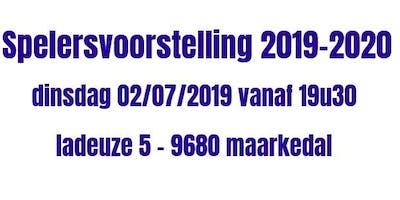 KVVV Ardennen : spelersvoorstelling seizoen 2019-2020