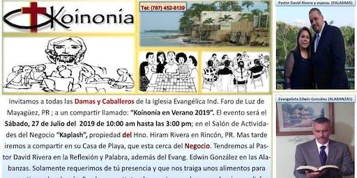 """""""Koínonía en Verano(2019)""""."""