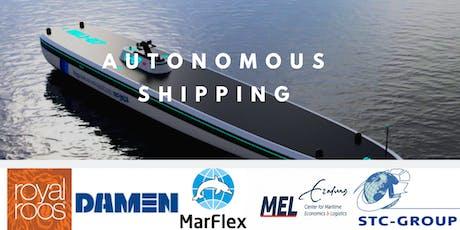 Autonomous Shipping - Practical Applications tickets