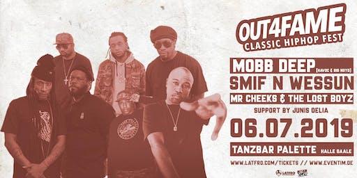 Out4Fame Classic Hip Hop Fest w/ Mobb Deep, Lost Boyz, Smif N Wessun - 06.07.19 - Tanzbar Palette
