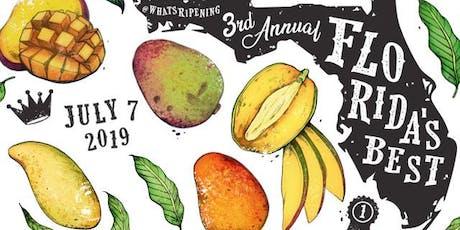 Florida's Best - 3rd Annual Mango Showdown tickets