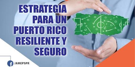 Estrategia para un Puerto Rico Resiliente y Seguro tickets