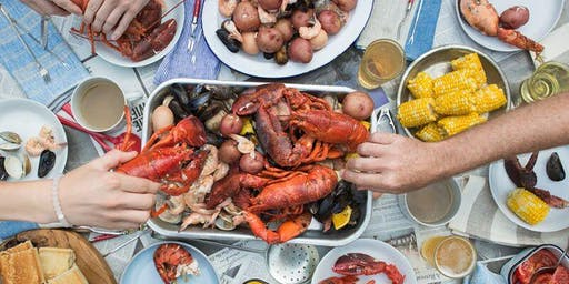 Lobster Bake on the Patio
