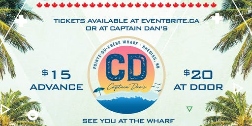 Canada Day Beach Party at Captain Dans