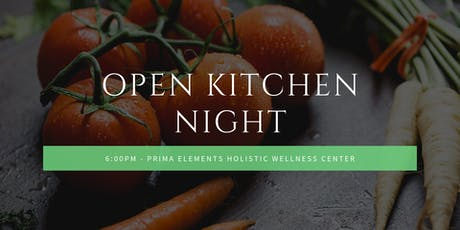 Open Kitchen Night : Fundamentals of Cooking tickets